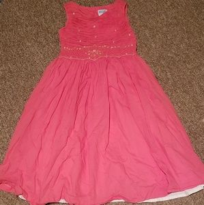 Luli & Me Pink Dress 6x